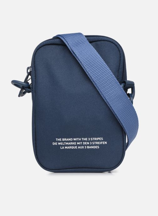 Sacs homme adidas originals FEST BAG TREF Bleu vue face