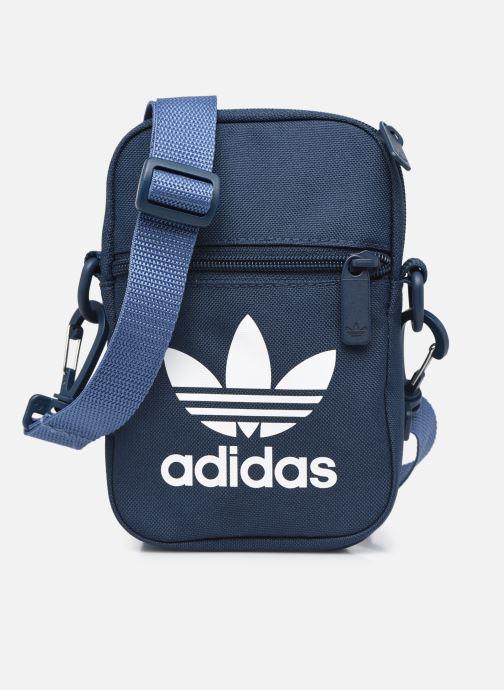 Sacs homme adidas originals FEST BAG TREF Bleu vue détail/paire