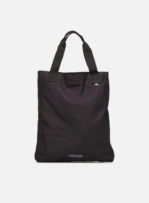 Handtaschen adidas originals BODEGA SHOPPER2 schwarz ansicht von vorne