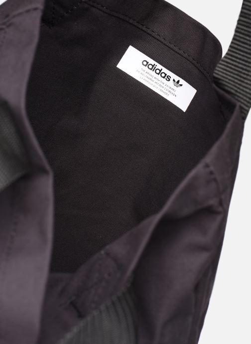 Handtaschen adidas originals BODEGA SHOPPER2 schwarz ansicht von hinten