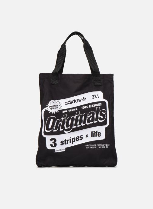 Handtaschen adidas originals BODEGA SHOPPER2 schwarz detaillierte ansicht/modell