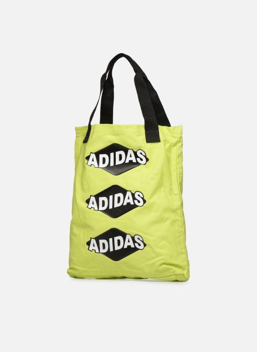 Handtaschen adidas originals BODEGA SHOPPER1 gelb schuhe getragen