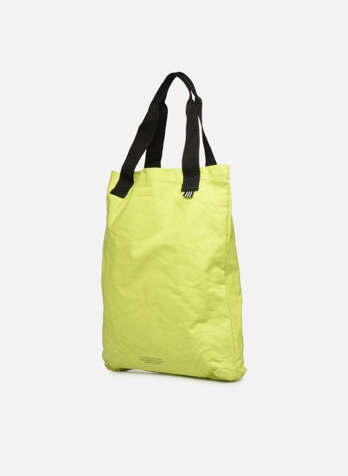 Handtaschen adidas originals BODEGA SHOPPER1 gelb ansicht von rechts