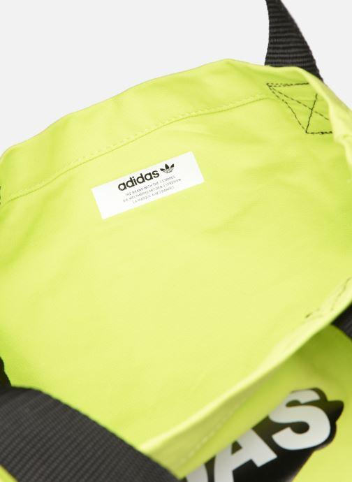 Handbags adidas originals BODEGA SHOPPER1 Yellow back view