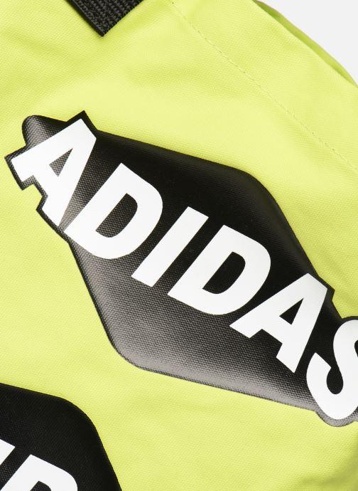 Handtaschen adidas originals BODEGA SHOPPER1 gelb ansicht von links