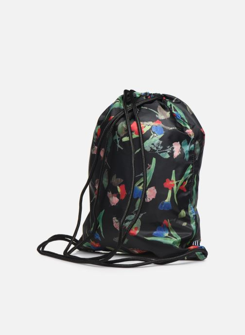 Rucksacks adidas originals GYMSACK Black view from the right