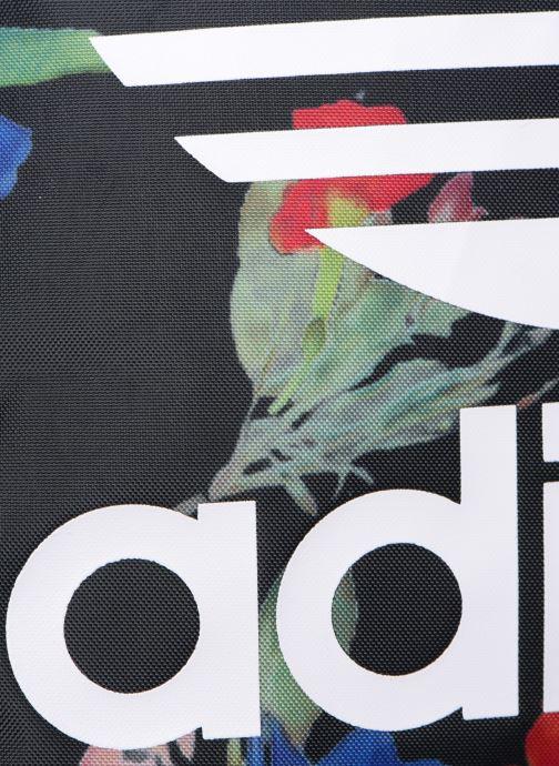 Rucksäcke adidas originals GYMSACK schwarz ansicht von links