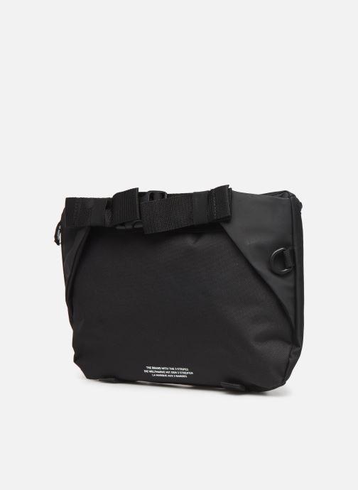 Portemonnaies & Clutches adidas originals PE WAISTBAG L schwarz ansicht von rechts