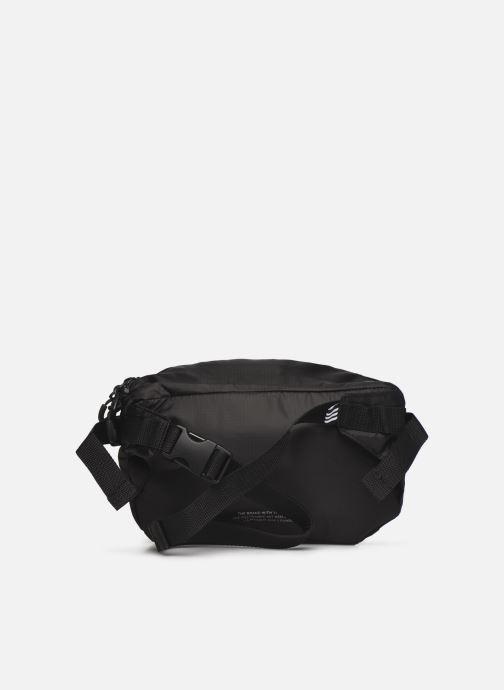 Handtaschen adidas originals PE WAISTBAG L schwarz ansicht von vorne