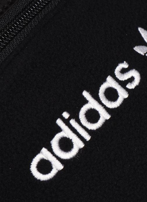 Handtaschen adidas originals PE WAISTBAG L schwarz ansicht von links