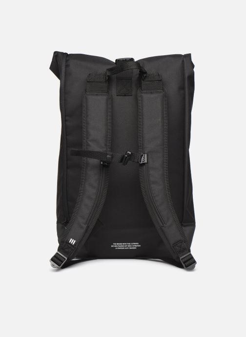 Rucksäcke adidas originals PE ROLLTOP BP schwarz ansicht von vorne