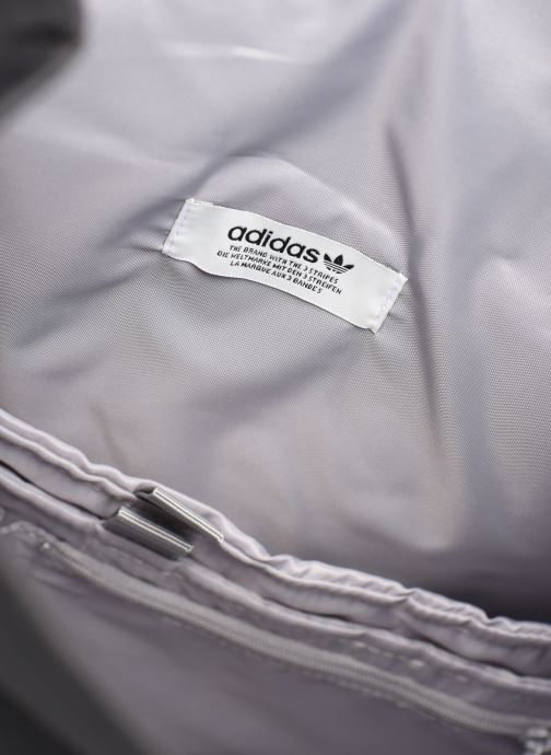 Rucksäcke adidas originals PE ROLLTOP BP schwarz ansicht von hinten