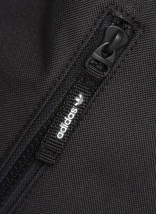 Rucksäcke adidas originals PE ROLLTOP BP schwarz ansicht von links