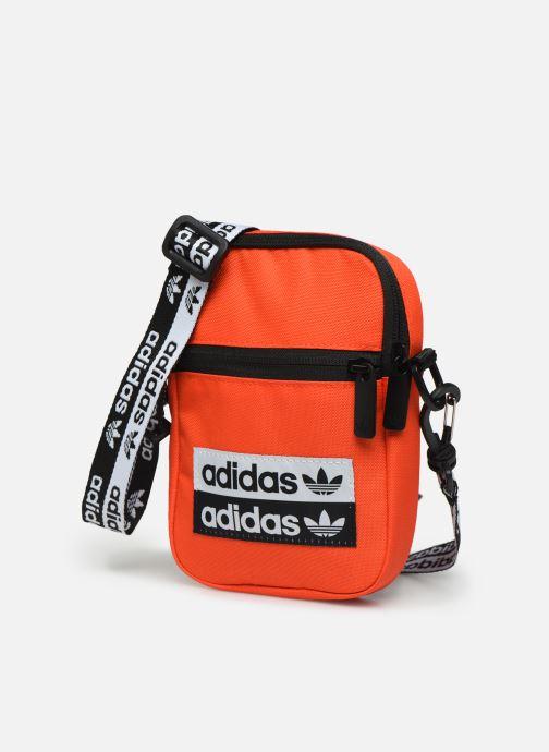 Bolsos de hombre adidas originals VOCAL FEST BAG Naranja vista del modelo