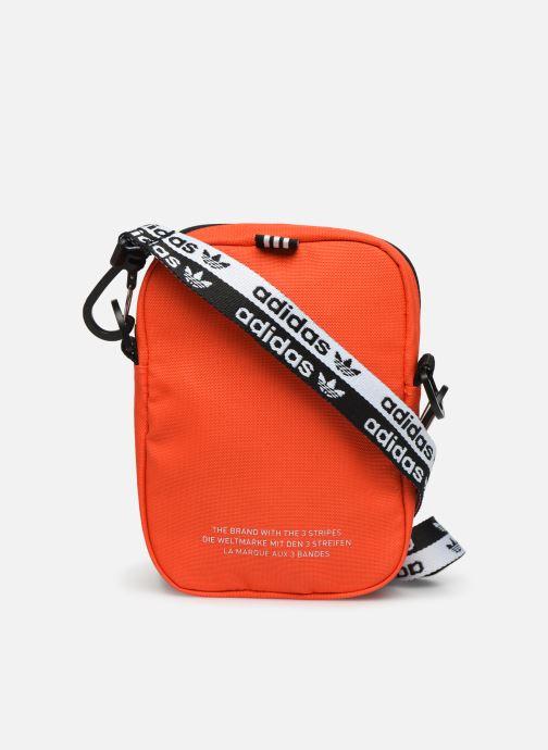 Men's bags adidas originals VOCAL FEST BAG Orange front view