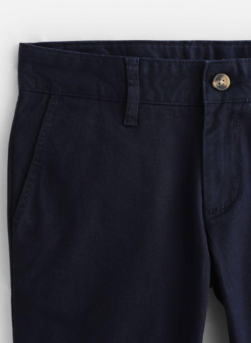 Vêtements Hackett London Slim Chino Y Bleu vue portées chaussures