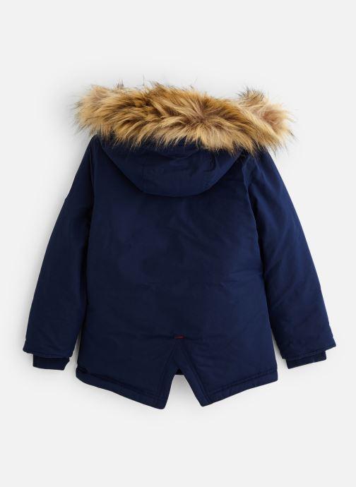 Vêtements Hackett London Arctic Parka Y Bleu vue bas / vue portée sac