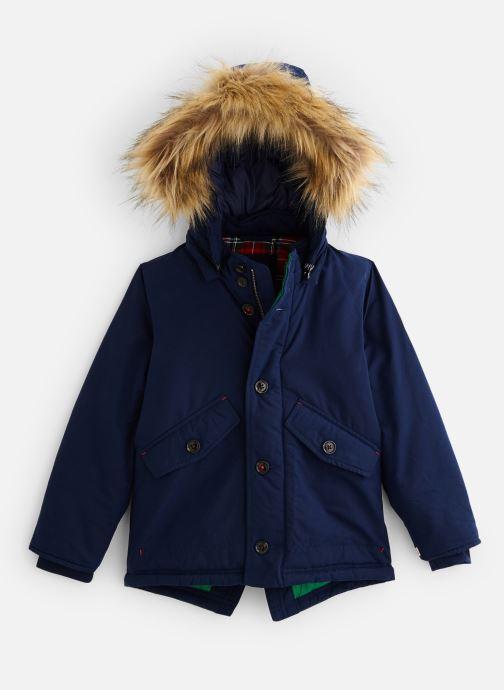 Vêtements Hackett London Arctic Parka Y Bleu vue détail/paire