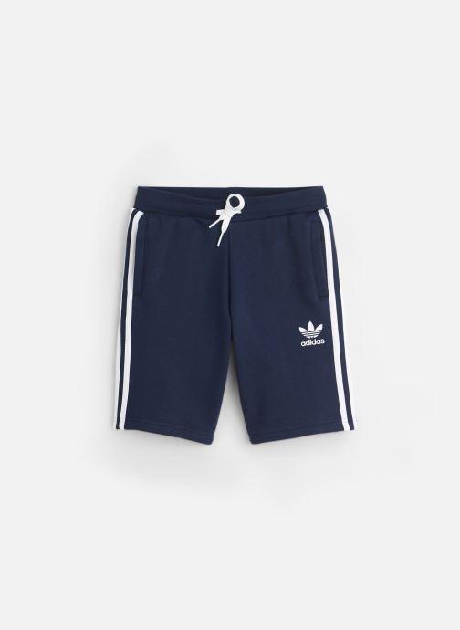 Vêtements adidas originals Fleece Shorts J Bleu vue détail/paire