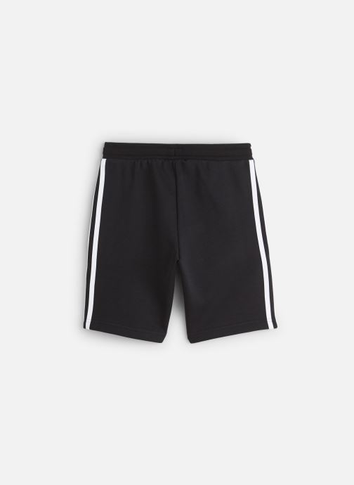 Vêtements adidas originals Fleece Shorts J Noir vue bas / vue portée sac