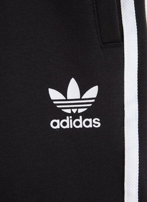 Vêtements adidas originals Fleece Shorts J Noir vue portées chaussures