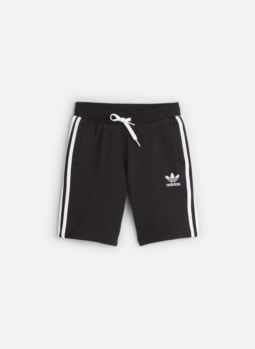 Vêtements adidas originals Fleece Shorts J Noir vue détail/paire