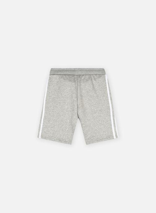 Vêtements adidas originals Fleece Shorts J Gris vue portées chaussures