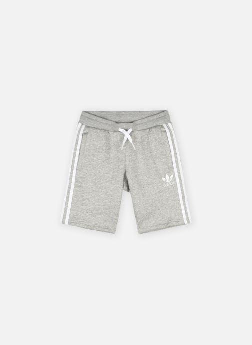 Vêtements adidas originals Fleece Shorts J Gris vue détail/paire