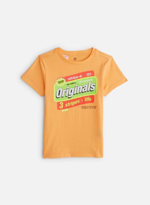Vêtements adidas originals Graphic Tee J Orange vue détail/paire