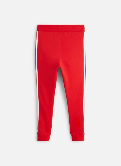 Vêtements adidas originals Trefoil Pants J Rouge vue bas / vue portée sac
