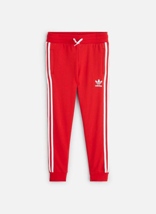 Vêtements adidas originals Trefoil Pants J Rouge vue détail/paire