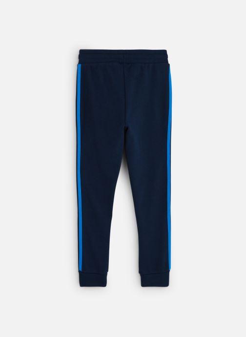 Vêtements adidas originals Trefoil Pants J Bleu vue bas / vue portée sac