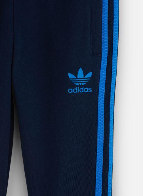 Vêtements adidas originals Trefoil Pants J Bleu vue portées chaussures