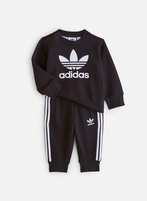 Kleding adidas originals Crew Set I Zwart detail