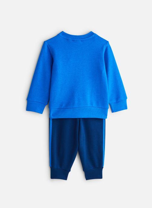 Vêtements adidas originals Crew Set I Bleu vue bas / vue portée sac