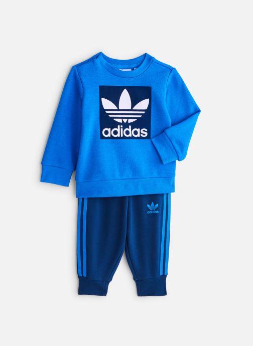 Vêtements adidas originals Crew Set I Bleu vue détail/paire