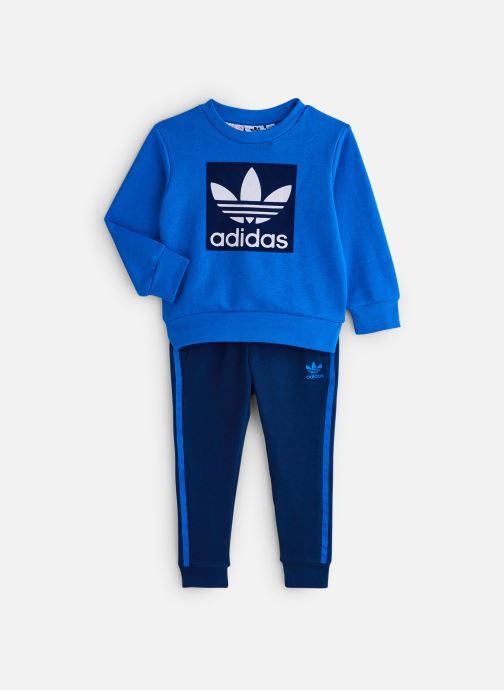 Vêtements adidas originals Crew Set K Bleu vue détail/paire
