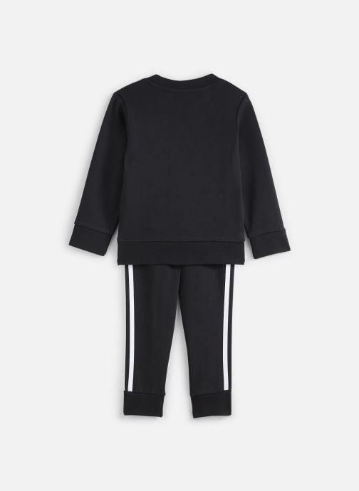 Vêtements adidas originals Crew Set K Noir vue bas / vue portée sac