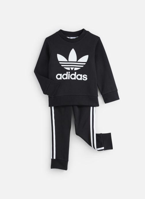 Vêtements adidas originals Crew Set K Noir vue détail/paire