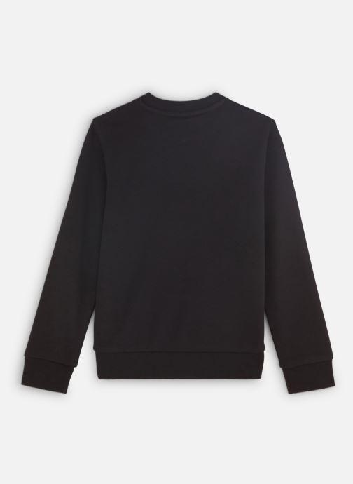 Vêtements adidas originals Trefoil Crew J Noir vue bas / vue portée sac