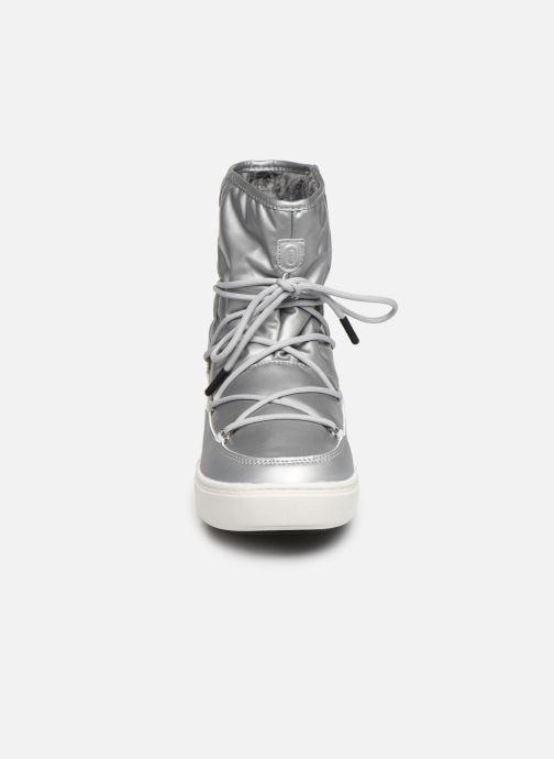 Zapatillas de deporte Moon Boot Moon Boot Pulse Nylon Plus Wp Plateado vista del modelo