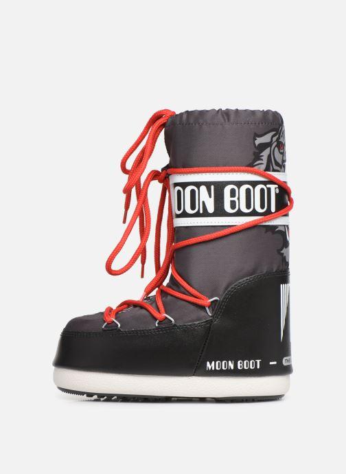 Chaussures de sport Moon Boot Moon Boot JR Boy Tiger Noir vue face