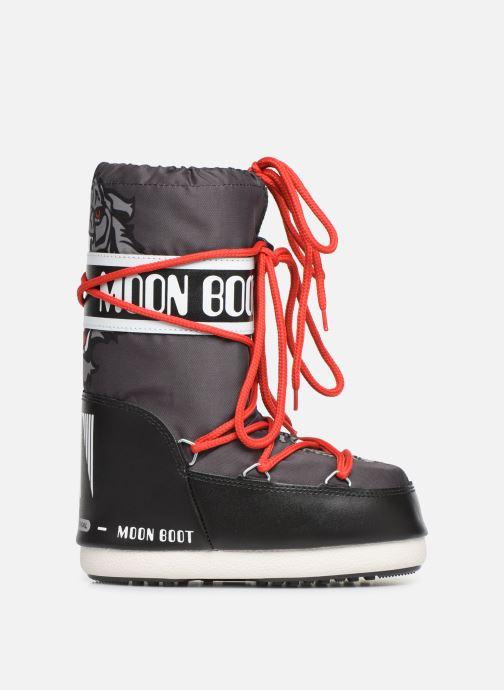 Chaussures de sport Moon Boot Moon Boot JR Boy Tiger Noir vue derrière
