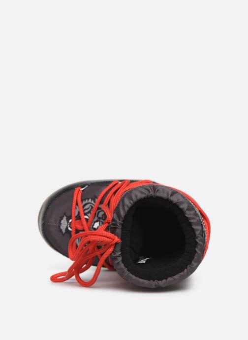 Chaussures de sport Moon Boot Moon Boot JR Boy Tiger Noir vue gauche