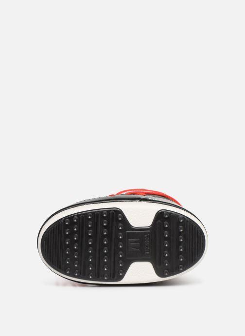 Chaussures de sport Moon Boot Moon Boot JR Boy Tiger Noir vue haut