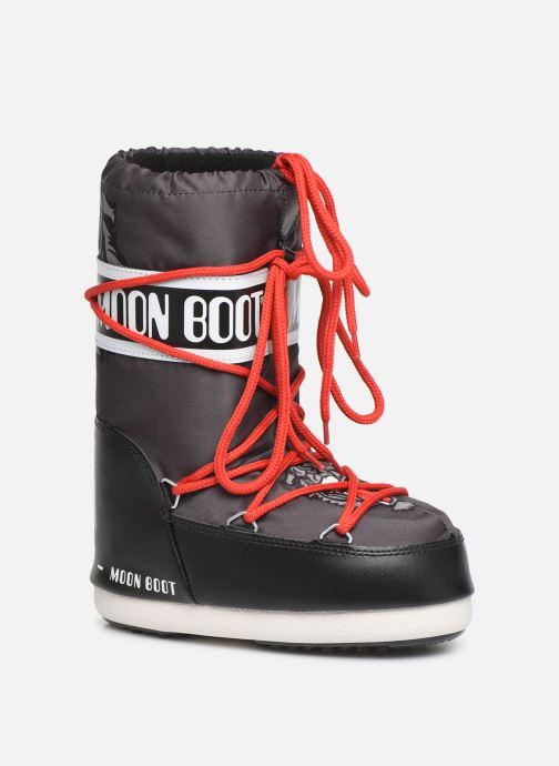 Chaussures de sport Moon Boot Moon Boot JR Boy Tiger Noir vue détail/paire