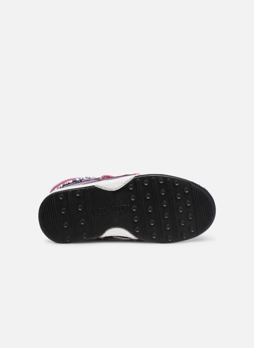 Chaussures de sport Moon Boot Moon Boot JR Boy Mid WP Violet vue haut
