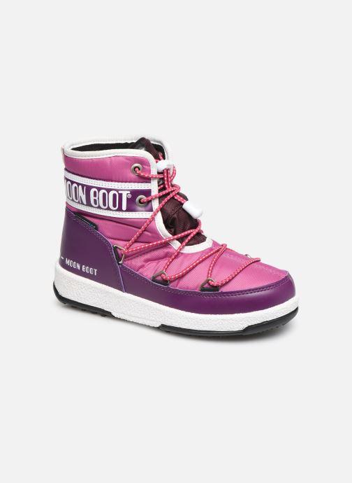 Chaussures de sport Moon Boot Moon Boot JR Boy Mid WP Violet vue détail/paire
