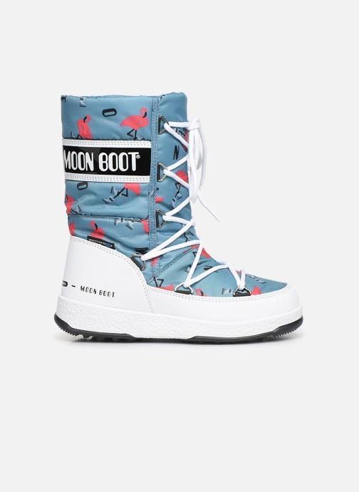 Chaussures de sport Moon Boot Moon Boot JR G.Q. Flamingo WP Vert vue derrière