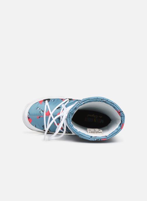 Chaussures de sport Moon Boot Moon Boot JR G.Q. Flamingo WP Vert vue gauche